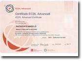 Diploma rilasciato da AICA